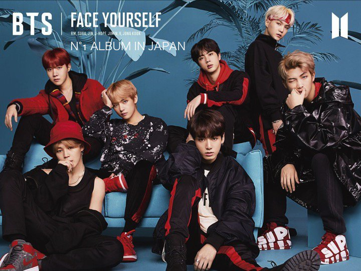 #BTSs #FACEYOURSELF debuts at N°1 on the Oricon Album chart and becomes the fastest selling K-Pop Album in Japan! 👏1⃣💿🎵🇯🇵🕺🕺🕺🕺🕺🕺🕺👑 facebook.com/worldmusicawar…