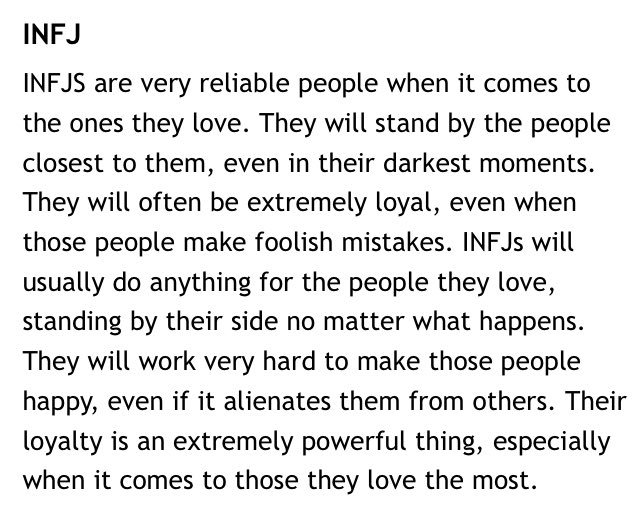 INFJ facts (@InfjFacts) | Twitter