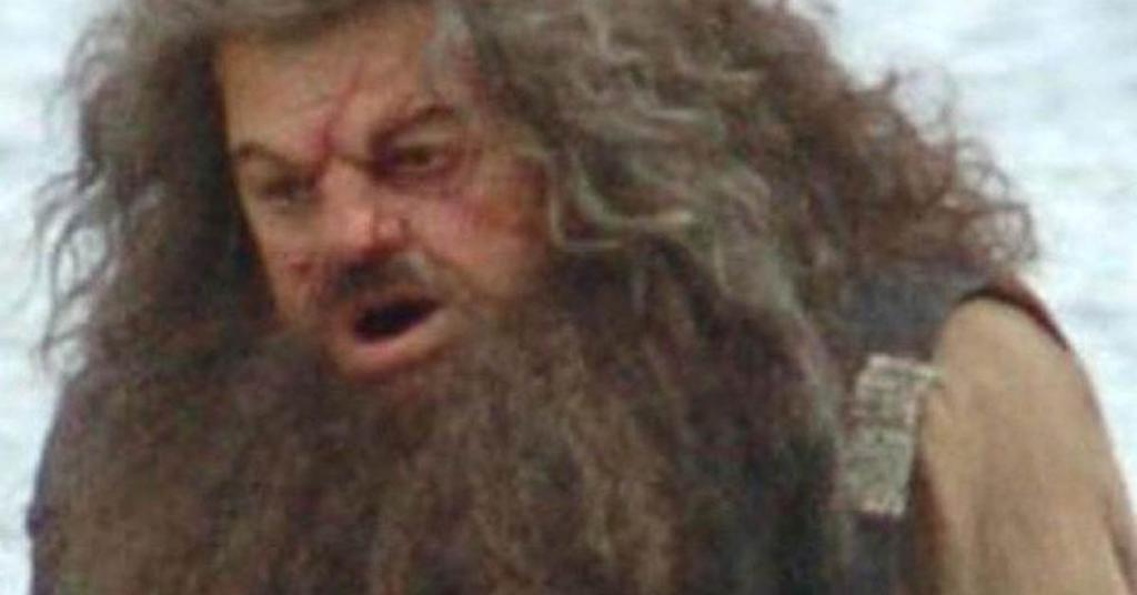 hagrid s body double in harry potter was actually an england legend