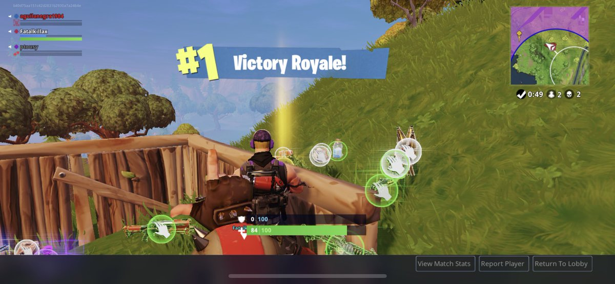 Hns Yohanlee On Twitter My Fortnite Victories On Iphonex First 2