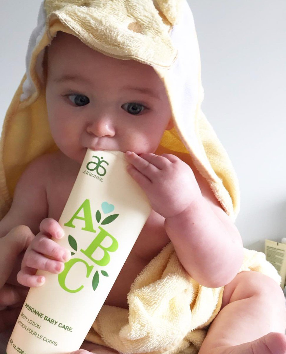 "arbonne on twitter: ""cutest. model. ever. abc arbonne baby care® is"