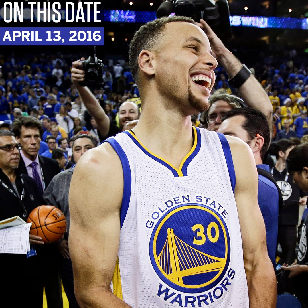 On this date 2 years ago, the Warriors did something no NBA team had ever done. https://t.co/DYDRQugEGp