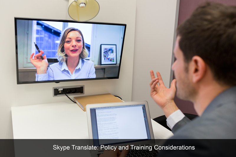 test Twitter Media - Skype Translate: Policy and Training Considerations https://t.co/iTEeJ18cJ7 #skype #elearning #language #training #workplacefuture https://t.co/VXaDXb4eox