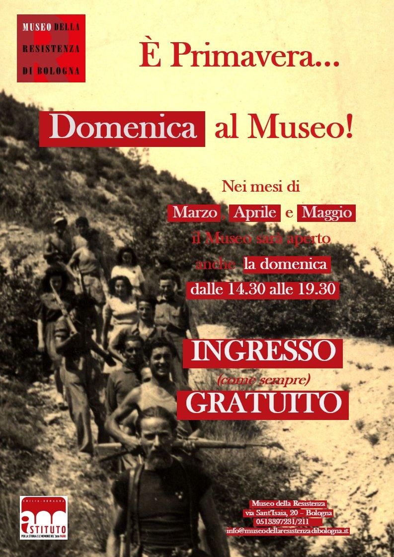 Buonasera! Domani #14aprile siamo aperti 10-13, Domenica #15aprile dalle 14.30 alle 19.30. INGRESSO GRATUITO -- Good evening! Tomorrow #April14th we&#39;re open 10AM-1PM, Sunday #April15th 2.30-7.30 PM FREE ENTRANCE @Twiperbole @BolognaWelcome @turismoER @TourismusER<br>http://pic.twitter.com/pwMBgchLb5