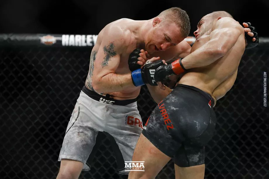 """@shaunalshatti I want to be known as the fighter that everybody wishes they could've seen live. So if you have the opportunity, then you won't regret coming to watch — unless I get knocked out quick or he gets knocked out quick, then it's still sweet."""" - @Justin_Gaethje #UFCGlendale"""