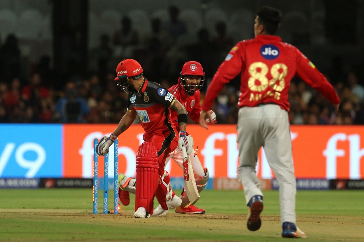 Royal challengers taste first victory!!