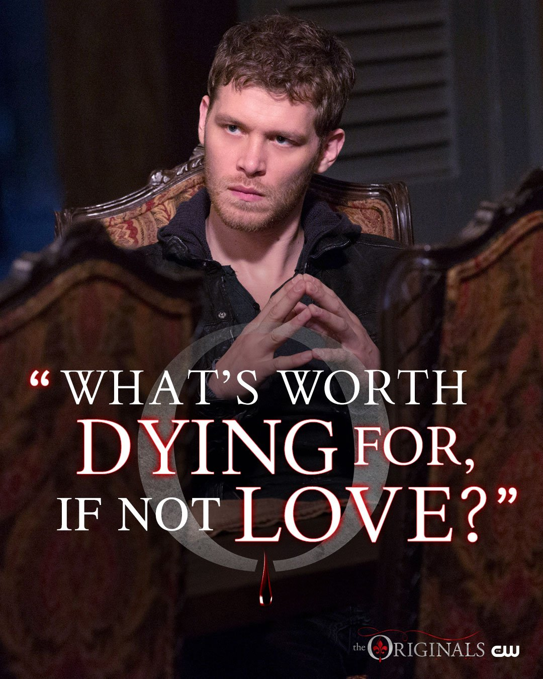 Wise words from Klaus. The final season begins Wednesday at 9/8c on The CW! #TheOriginals https://t.co/afsXnfbBEV