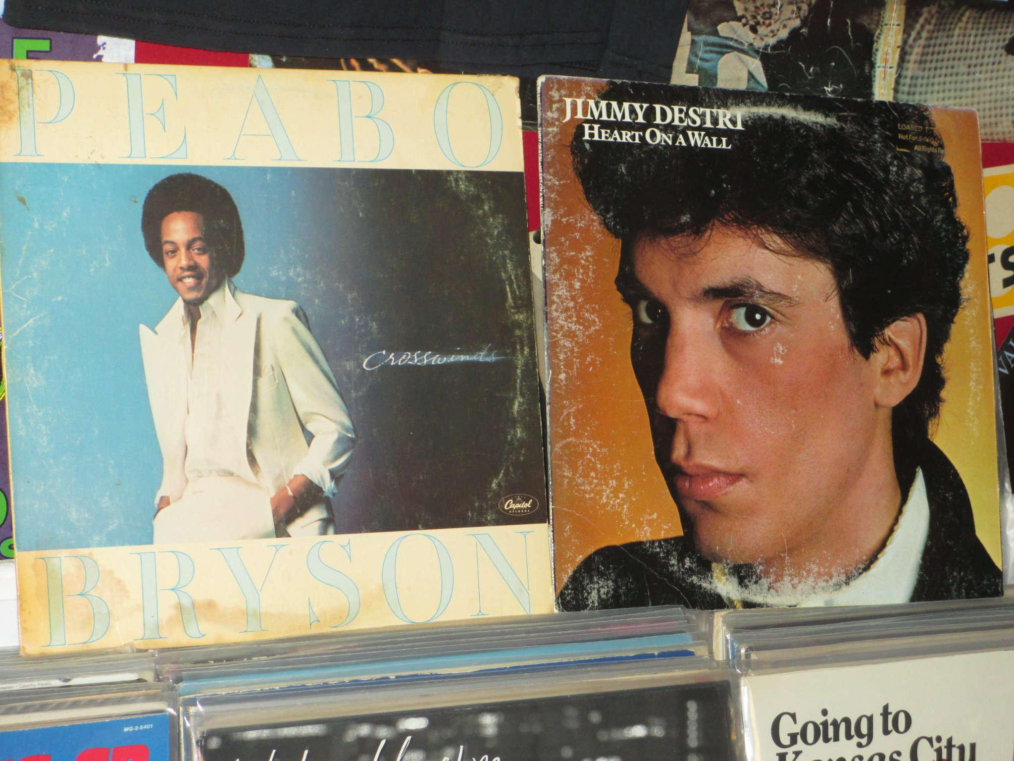 Happy Birthday to Peabo Bryson & Jimmy Destri (Blondie)