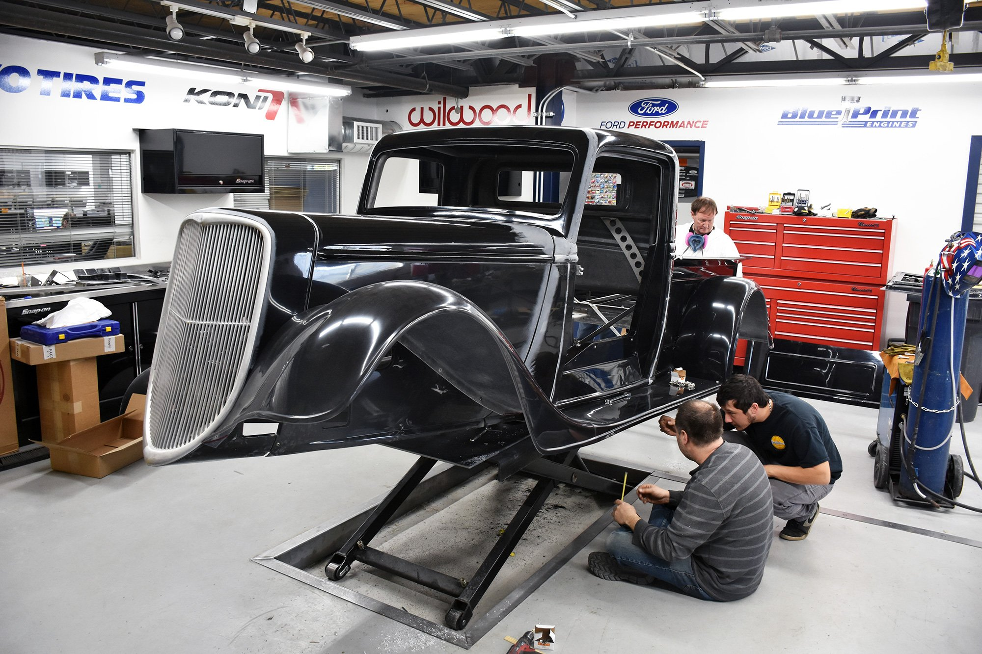 Factory five racing on twitter the crew is working hard to wrap up factory five racing on twitter the crew is working hard to wrap up the week and we posted an update on where we are with our new 35 hotrod truck malvernweather Image collections