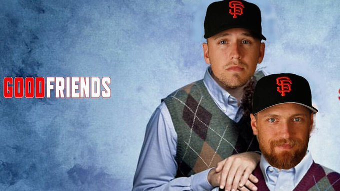 Happy birthday to Buster Posey s good friend have a blast!!!