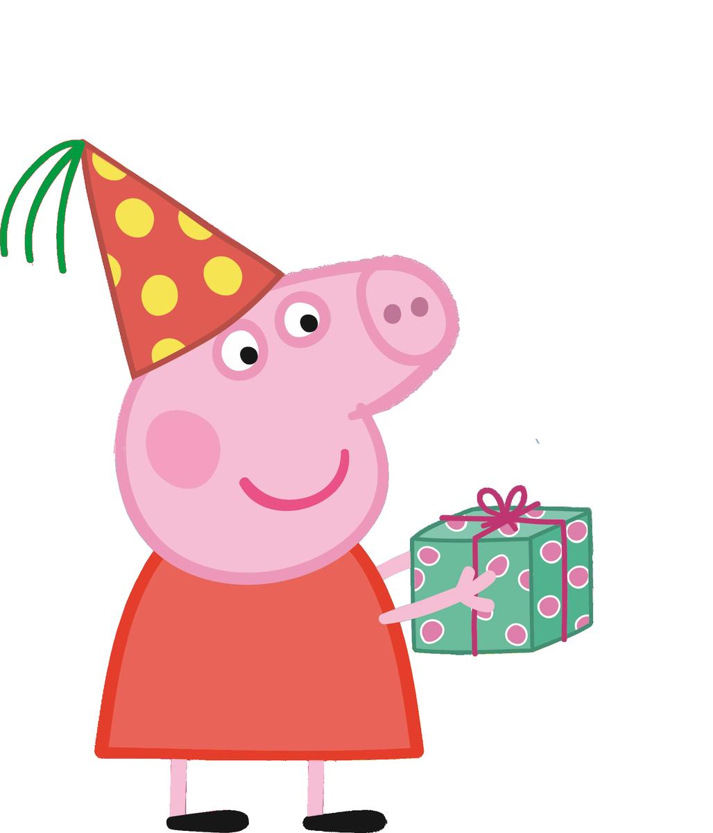 Пеппа с днем рождения картинки