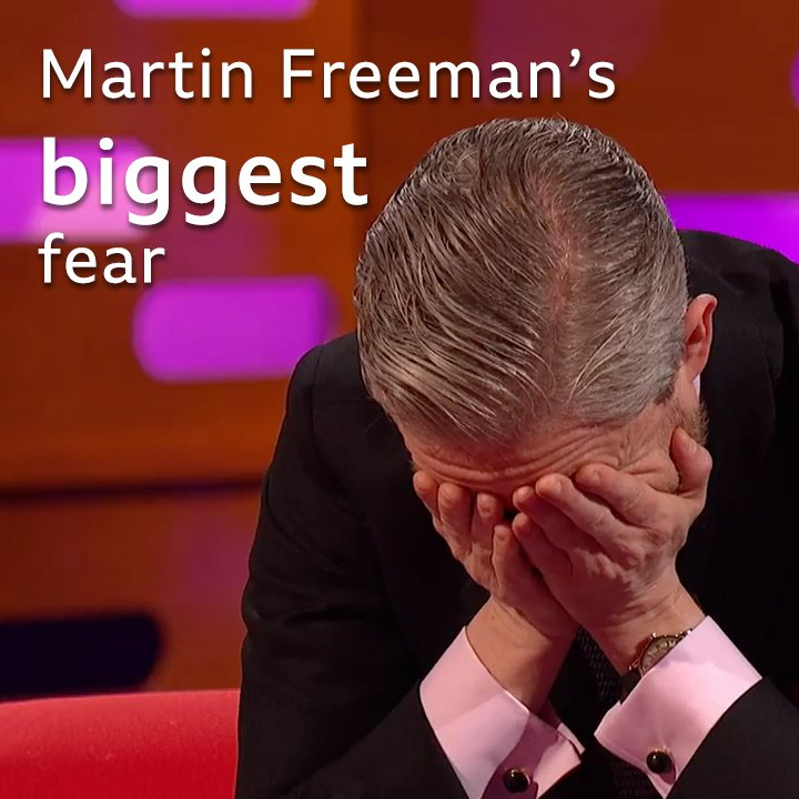 This is Martin Freeman's secret worst fear... #TGNS