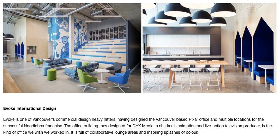 Evoke International Design On Twitter Thanks So Much For The Generous Shoutout Unionwoodco In Particular Todd Mitchell For Featuring Our Dhxmedia Project In Your Commercial Design Firms So Talented You