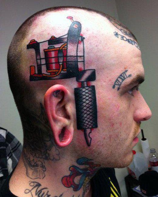 Mundo De Tatuajes On Twitter Se Tatuarían En La Cara