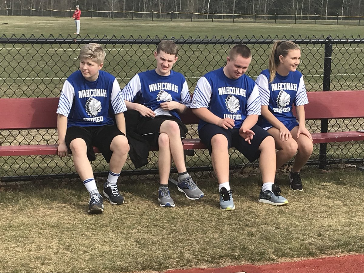Action from the first ever #Wahconah Unified Track and Field meet...GO BLUE! @WRHSGoBlue #ChooseToInclude <br>http://pic.twitter.com/BDLWIJAC38