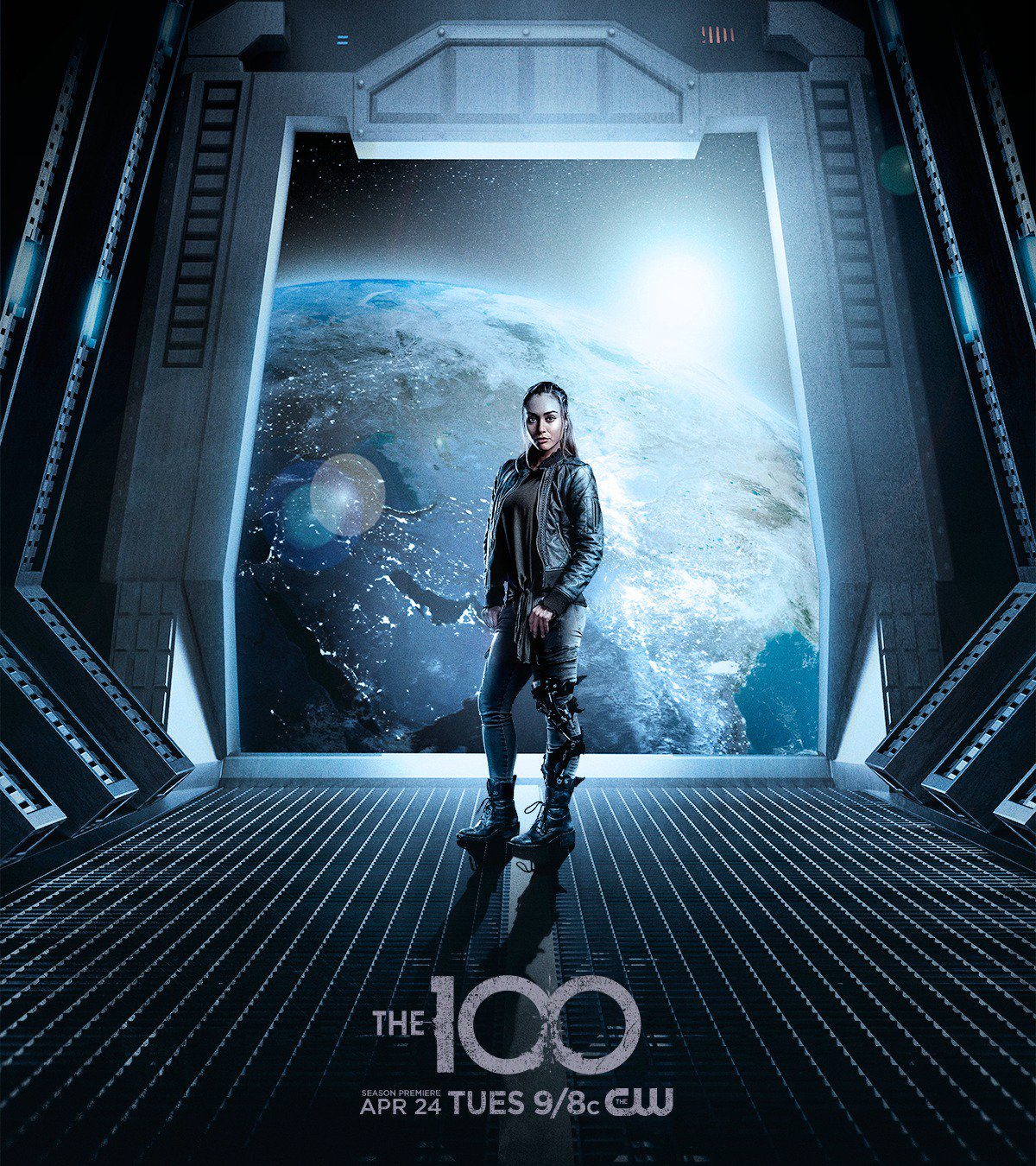 Live to spacewalk. #The100 returns Tuesday, April 24 at 9/8c on The CW! https://t.co/WyE8oi6Ci8