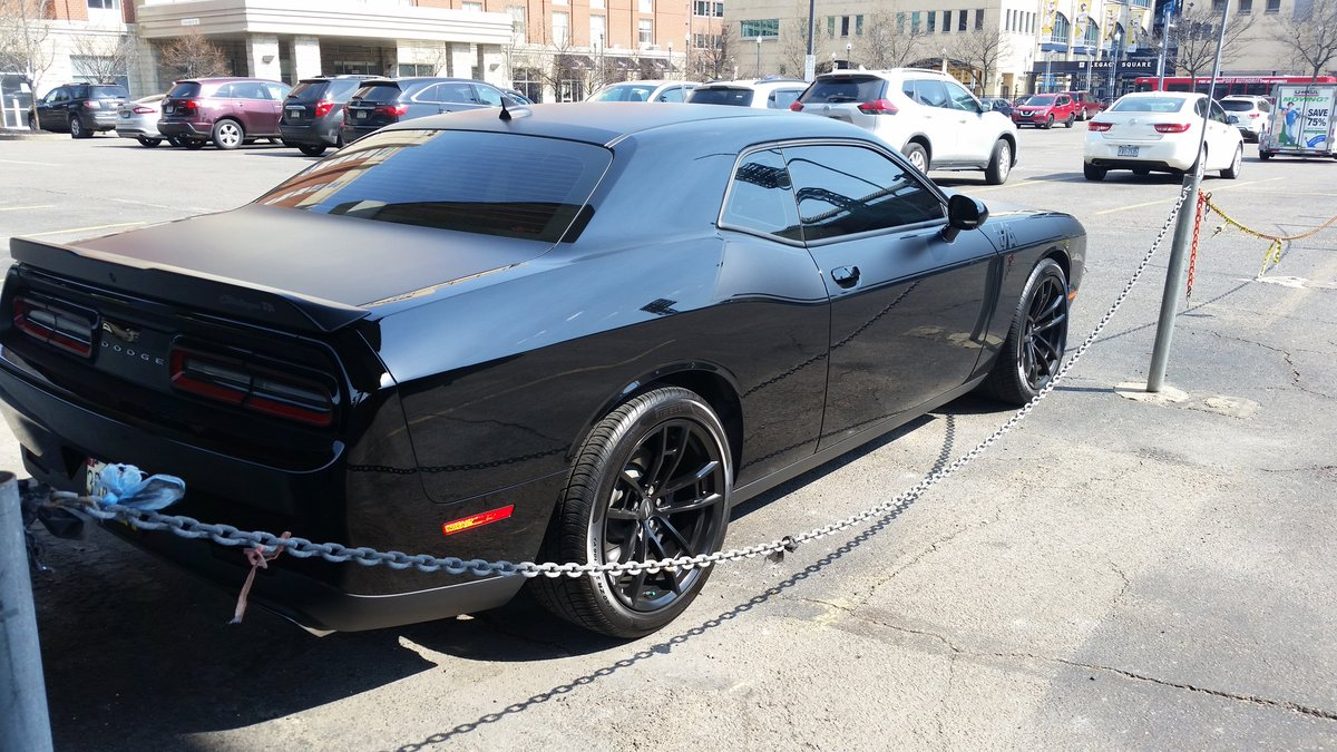 Justin Davic On Twitter Blacked Out Dodge Challenger T A 392