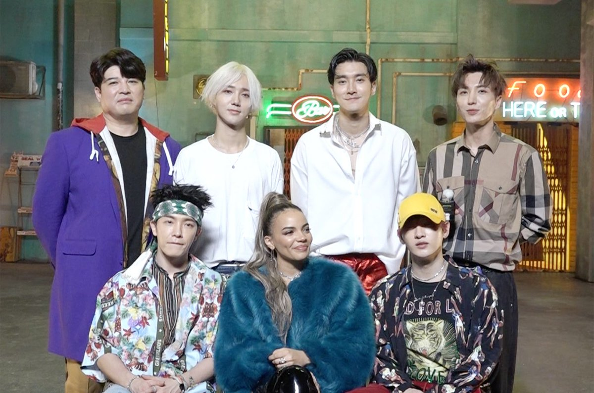 Watch Super Junior (@SJofficial) &  dis@lesliegracecuss  and#LoSiento teach each other Korean & Spanish (exclusive video) https://t.co/sm1Uz4cAMq