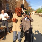 Image for the Tweet beginning: WSPD & McGruff at the