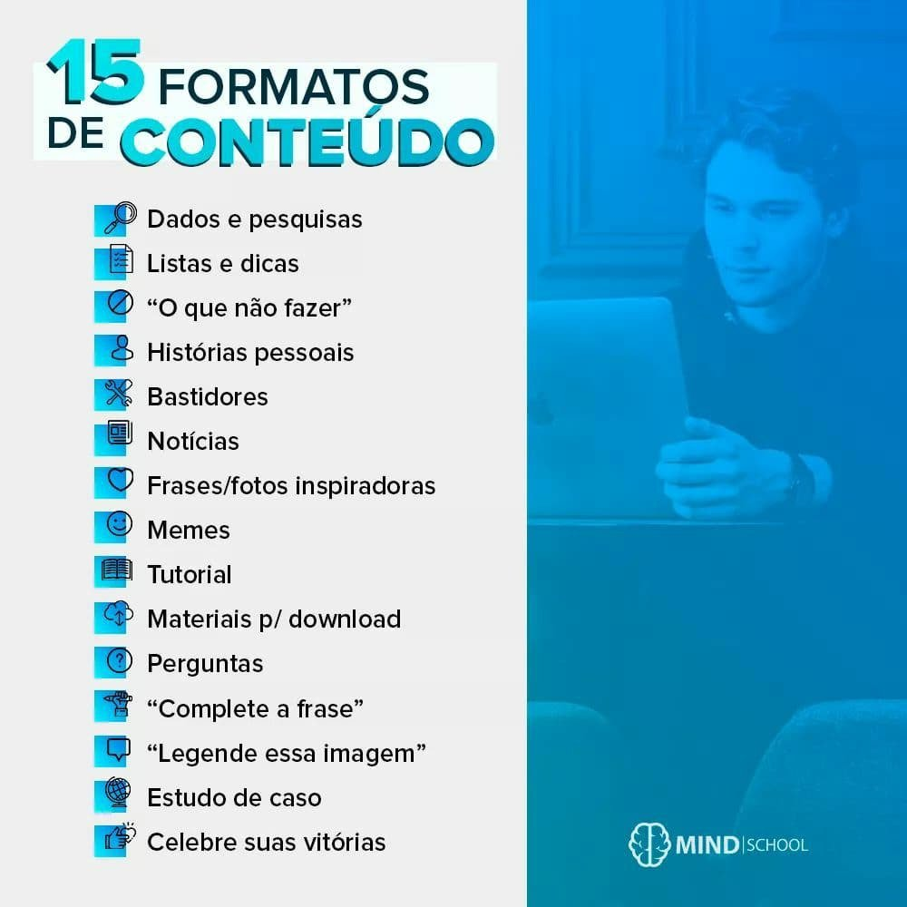 Tn Agência De Marketing Digital On Twitter 15 Formatos De