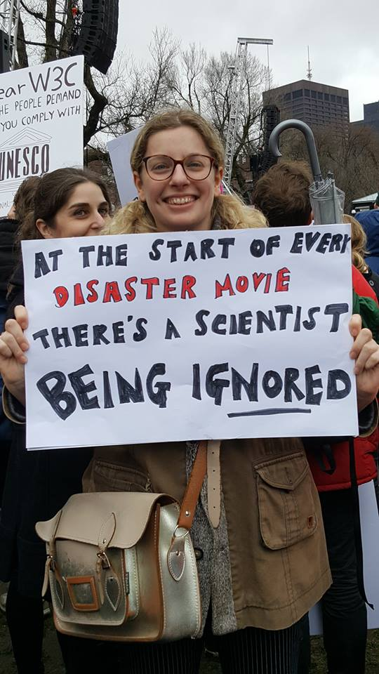 Democrats promote second annual March for Science: Vote climate change deniers out
