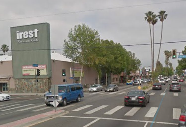 Did you know that in the '80s acts like U2, Beastie Boys, Prince, Iggy Pop, and James Brown played gigs at this building on Sherman Way east of #Reseda Blvd? Good times! It's now a church...  http://www. laweekly.com/music/what-hap pened-to-the-reseda-country-club-2407238 &nbsp; …  #sfv<br>http://pic.twitter.com/WzIzAWMc63
