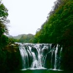 """The """"Shifen Waterfall"""" is reputed as Taiwan's Niagara for its magnificence. If the sun is out, there are chances of seeing a rainbow. It is the most popular tourist site in Pingxi Dis of New Taipei City. Check here :  https://t.co/3wyypvBC7V"""
