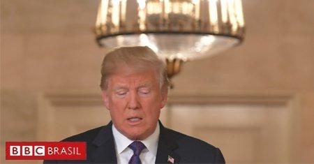 #URGENTE O presidente americano, Donald Trump, acaba de anunciar novos bombardeios na Síria, em uma ação ao lado do Reino Unido e França. Já há registros de explosões nos arredores de Damasco. (Foto: AFP)