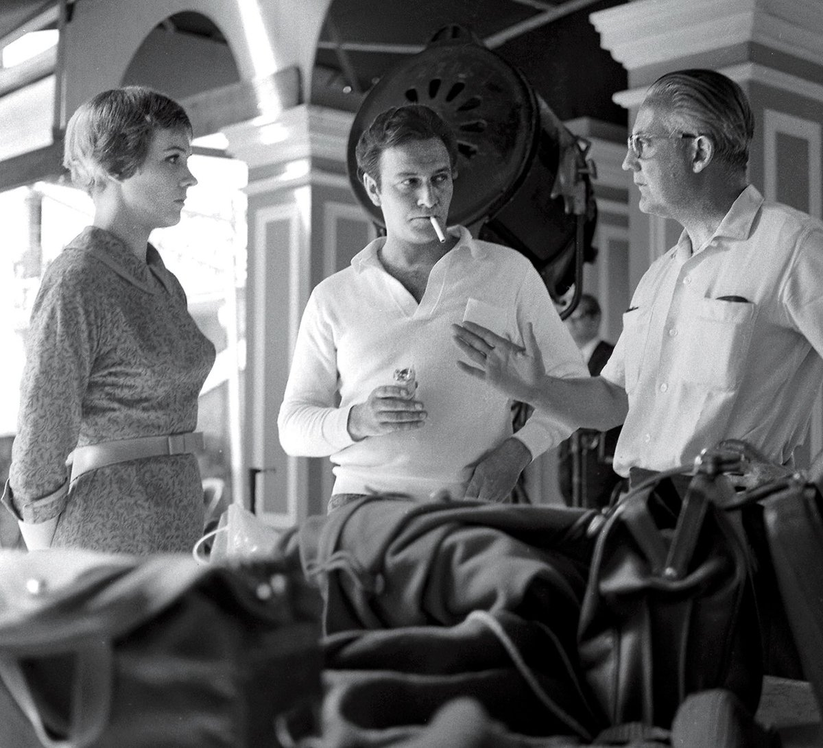 """Dominique Lessing on Twitter: """"Robert Wise directing Julie Andrews ..."""