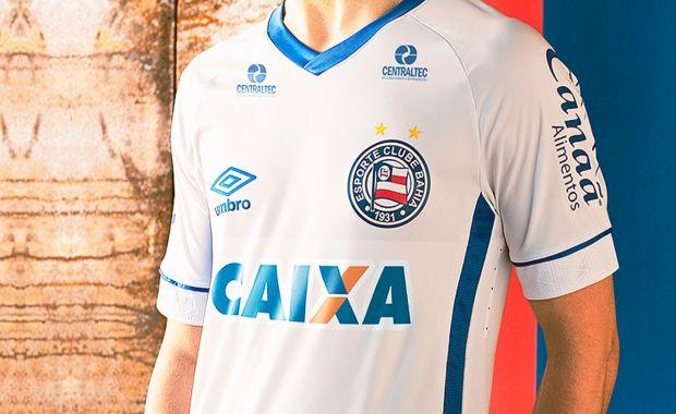 Umbro lança nova camisa do Bahia inspirada na Rússia https://t.co/6wbXeAvhIy https://t.co/6Md3OE3RIJ