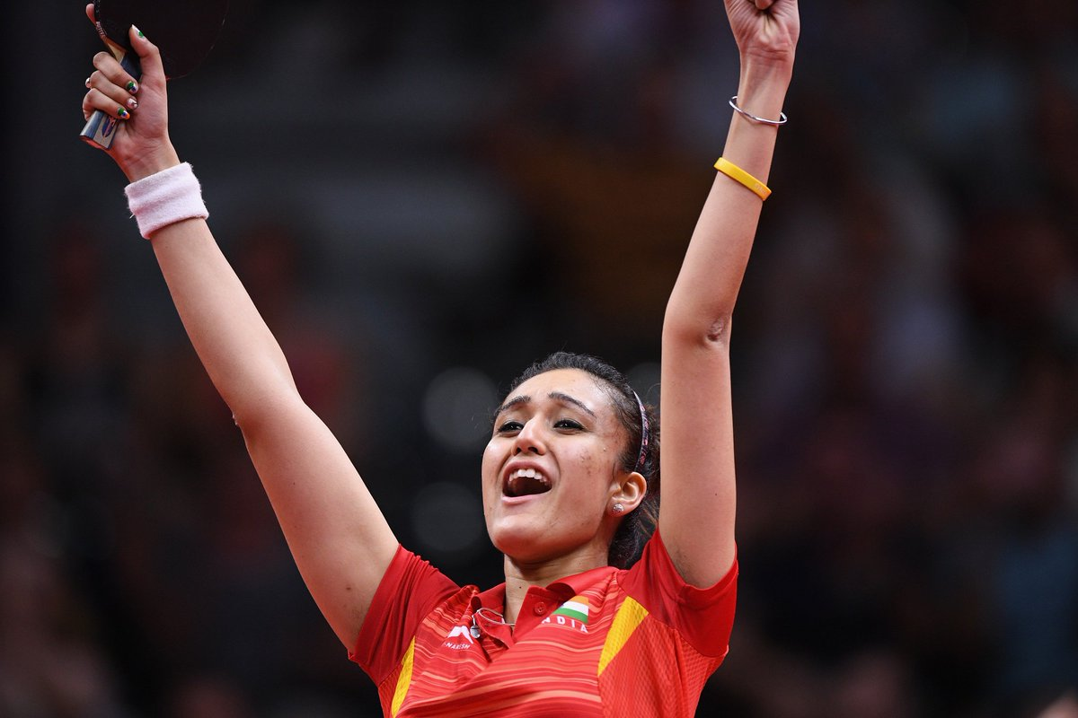 CWG 2018: Manika strikes gold, clinches mixed bronze with Sathiyan in Table Tennis