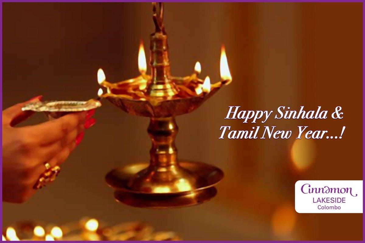 We wish you a happy and prosperous Sinhala and Tamil New Year!  #Avurudu #CinnamonLakeside #ColomboHotels #NewYearWish https://t.co/p3ptUKMCFI