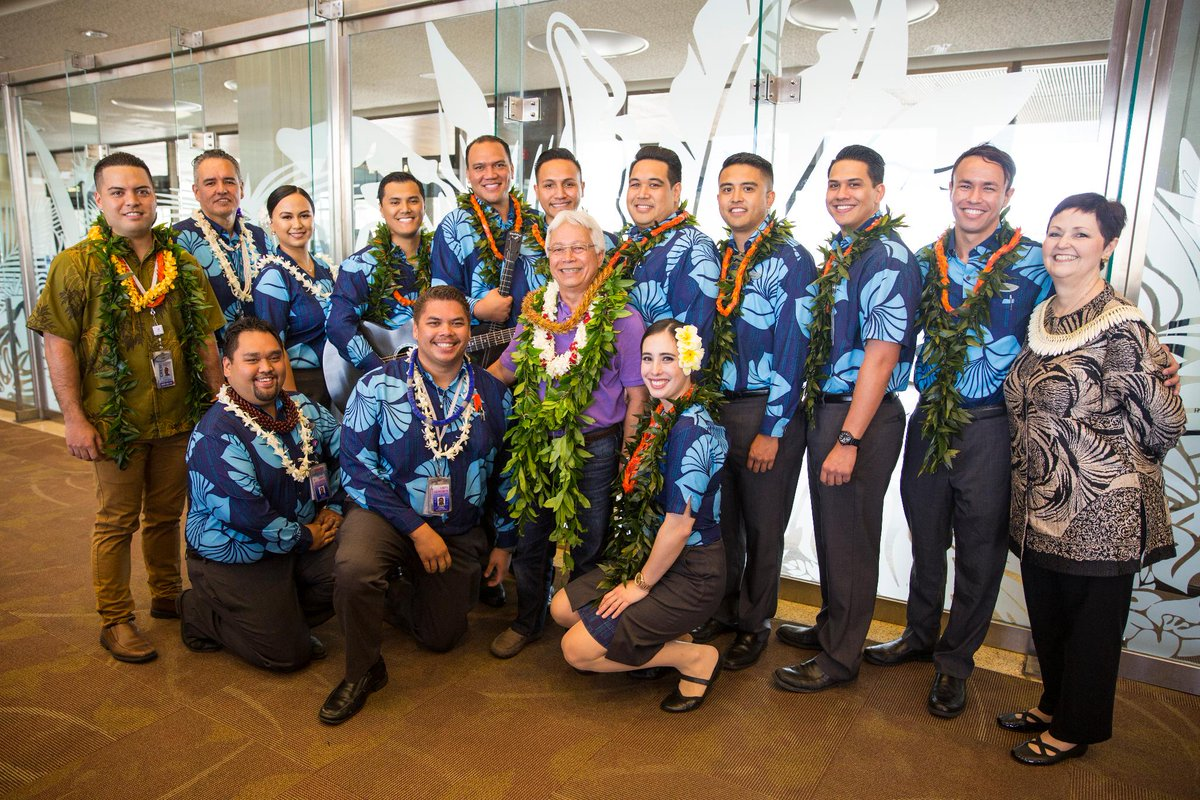 Hawaiian Airlines Flight Attendant