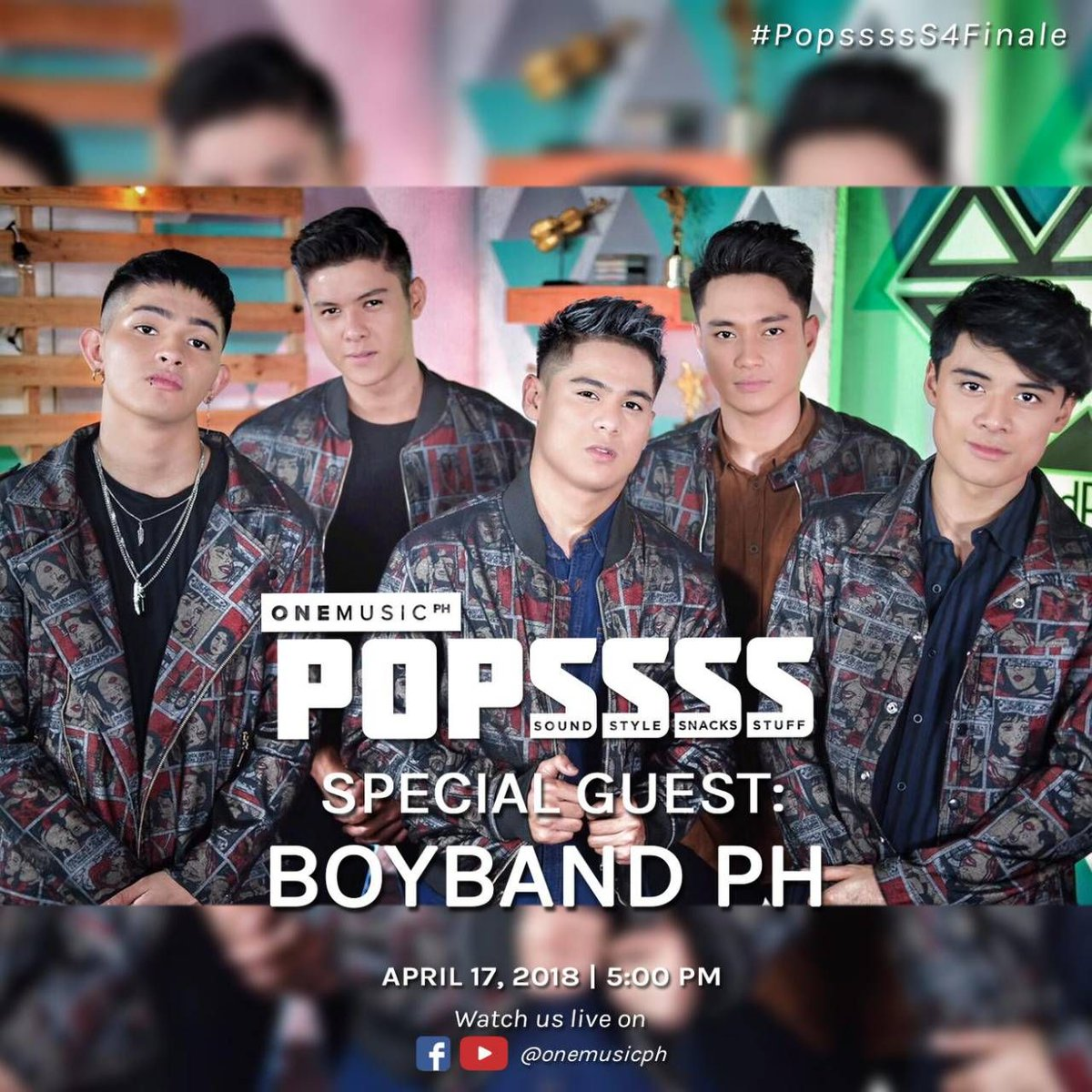 Were having @BoybandPH over for the season finale of POPSSSS! Kita kits, mga bes! 🤩 #PopssssS4Finale