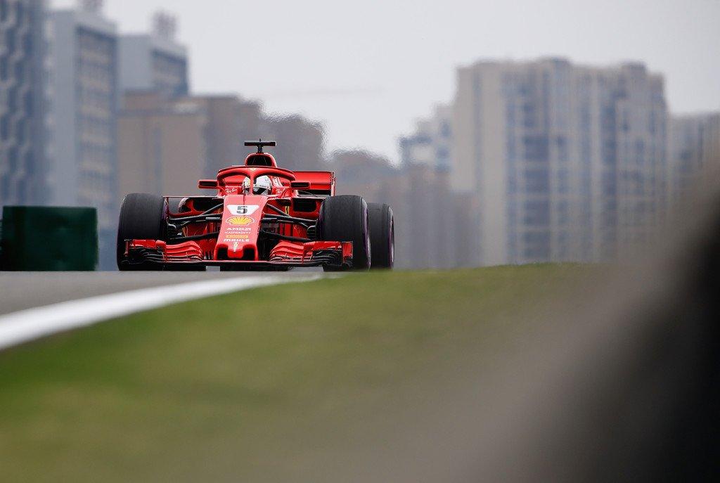 Sebastian Vettel China GP 2018 Formula 1