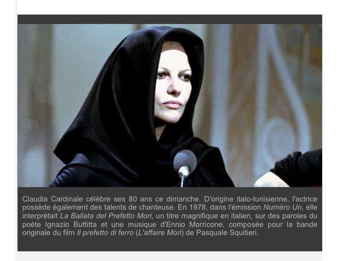Happy birthday Claudia Cardinale!    via