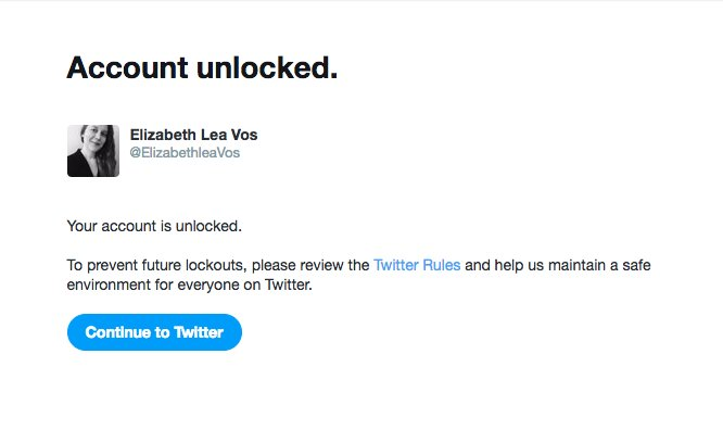 Aaa Com Myaccount >> Elizabeth Lea Vos On Twitter Got Temporarily Locked Out Of