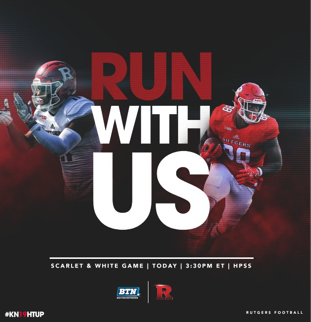 rutgers football on twitter rutgers scarlet white spring game is