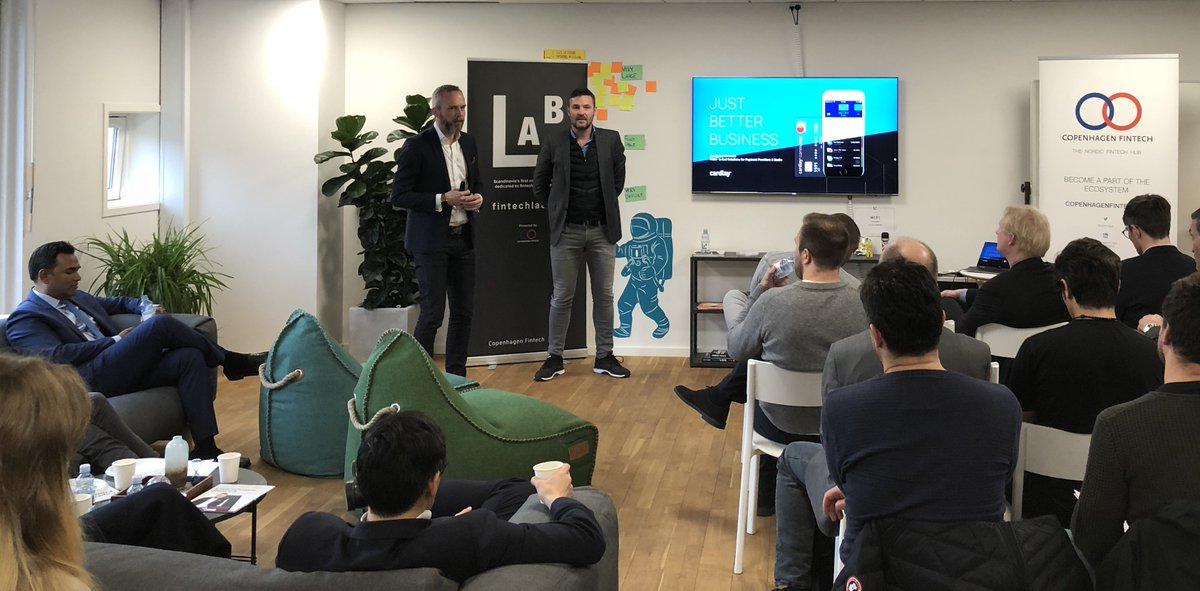 &quot;Best user experience wins in payments&quot; @cardlay Founder and CEO presenting #CommercialCards #ExpenseManagement #VATreclaim banking platform to @Citi @ronit_ghose  http:// borsen.dk/nyheder/avisen /artikel/11/196148/artikel.html &nbsp; …  #digitalbanking #openbanking #CitiGPS #cphftw #dkfinans #dkbiz #paymentcards #nordicmade<br>http://pic.twitter.com/jCsPWcvVym