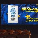 Image for the Tweet beginning: 2. #PulseOfEurope #Europa-Salon am 23.04.!