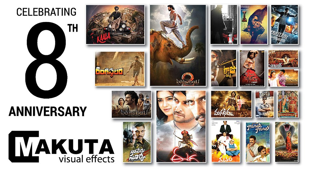 Today marks the 8th Anniversary of Makuta. Cheers to the #incredible yet #amazing journey of 8 years!! #MakutaVFX #8thAnniversary #Celebration #8yearsold<br>http://pic.twitter.com/s25jS1vmL6