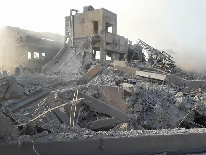 Точечный удар международной коалиции против химобъектов режима Асада - вынужденный, но оправданный шаг, - Порошенко - Цензор.НЕТ 3039