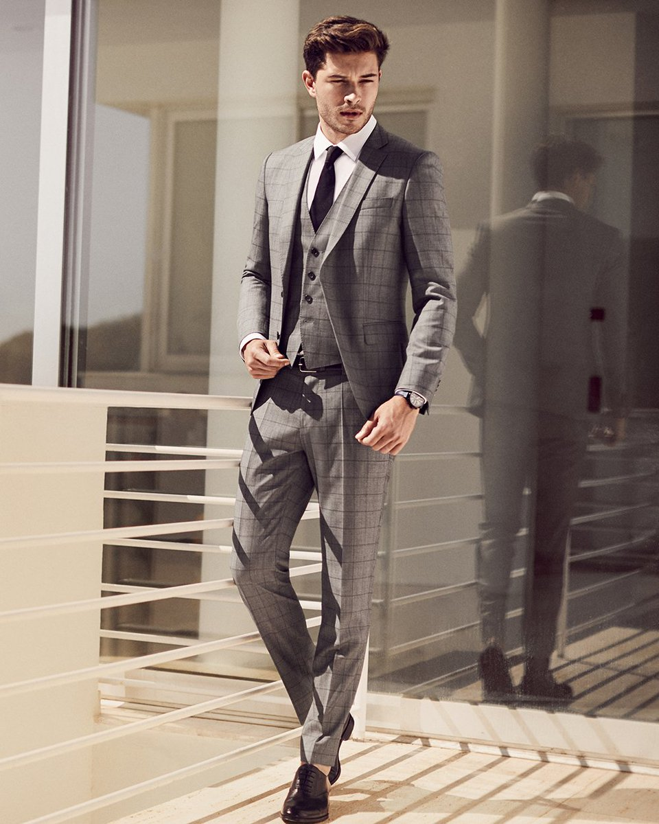 c1e3f5267 Wedding or graduation: celebrate in style from head to toe in this  three-piece suit and sharp Oxfords. Discover more:  http://bit.ly/summerofease ...