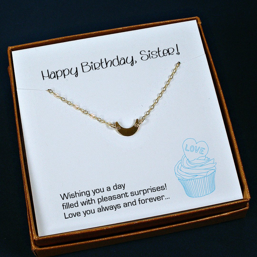Sister Birthday Gift Necklace Ideas Jewelry Unique