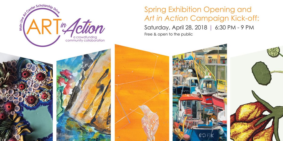 Main Line Art Center On Twitter Our Artinaction Event Is Free