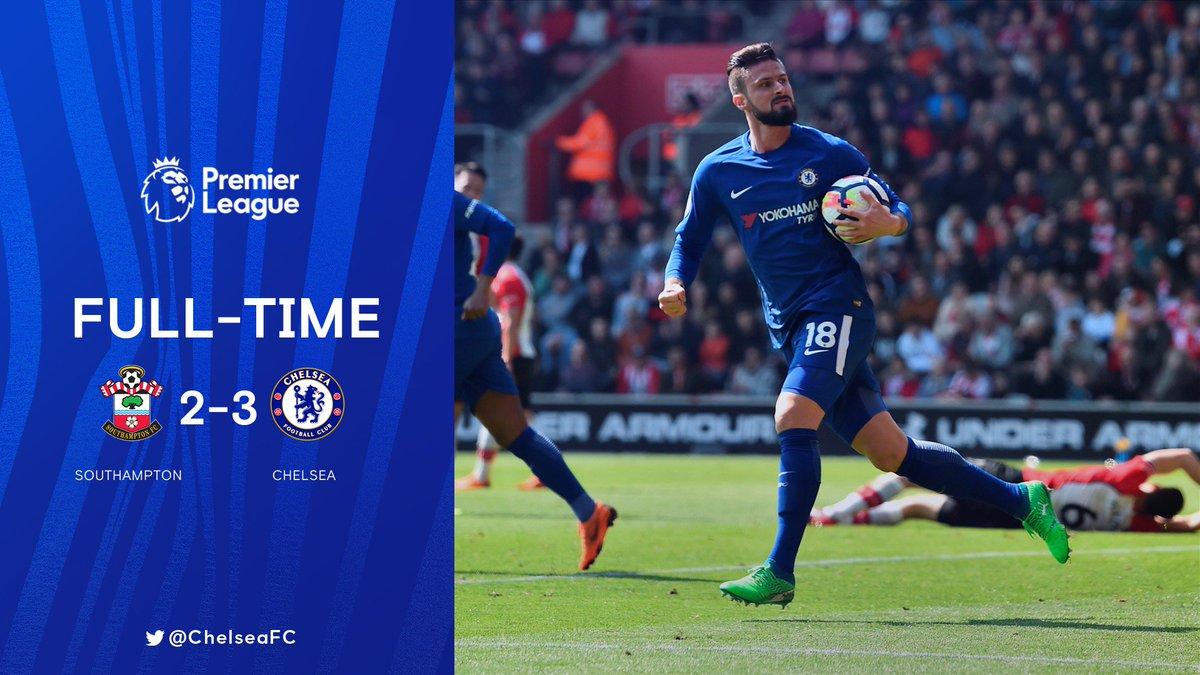 Chấm điểm kết quả Southampton 2-3 Chelsea