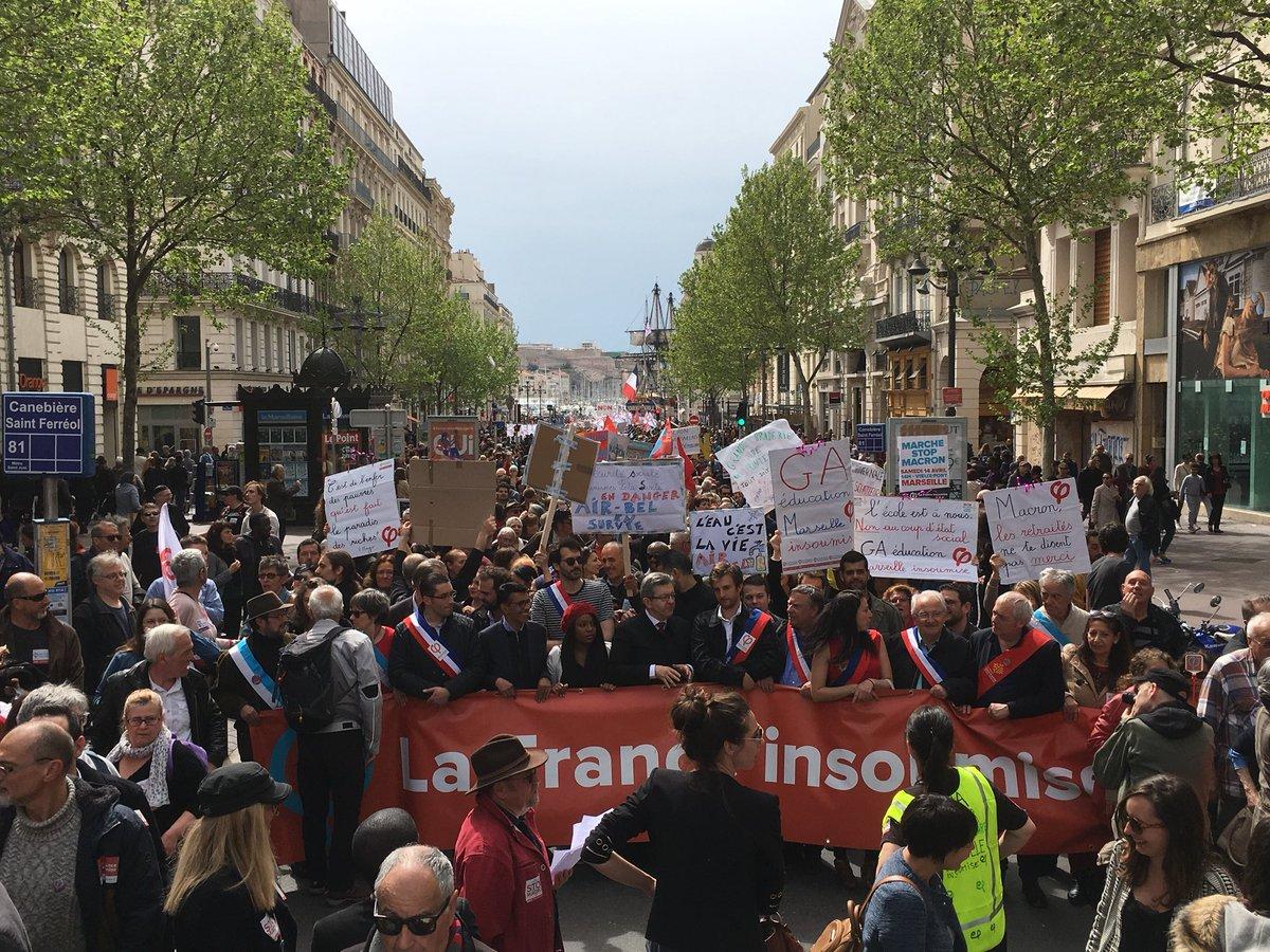 Le 14 avril à Marseille, tous ensemble pour dire «Stop Macron» Davz8vvWAAI4WMl