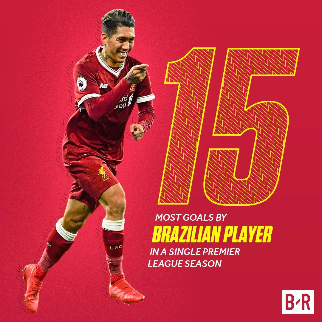 Roberto Firmino is having the best goalscoring season by a Brazilian in the Premier League EVER