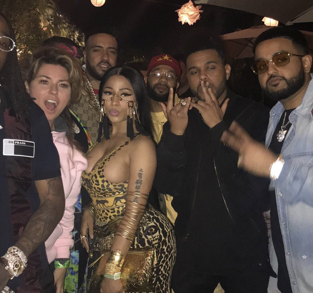 Nothing but crew love #coachella