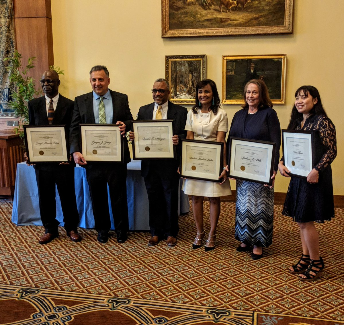With heartfelt gratitude, we celebrated our 2018 C. Knox Massey Distinguished Service Award winners today! Thank you! https://t.co/bXlEEfKKcx